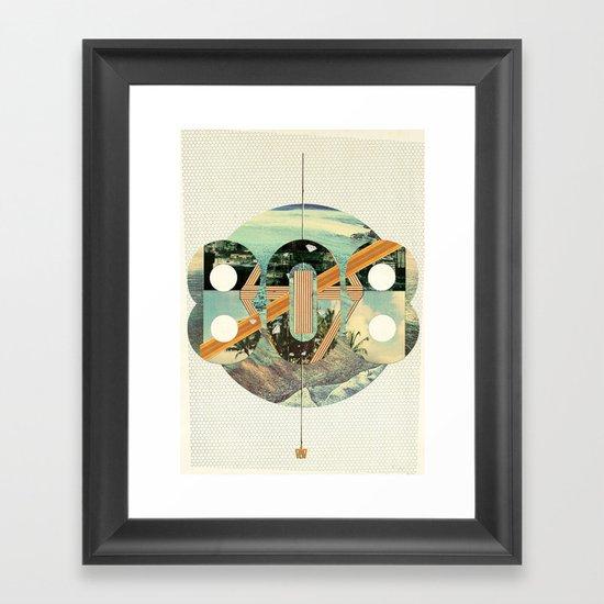 808 State Framed Art Print