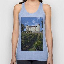 Medieval Castle in southwestern France Unisex Tank Top