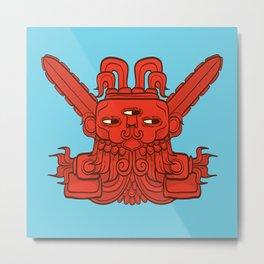 Ah Puch (Mayan God of War) Metal Print