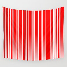 Red Track Wall Tapestry