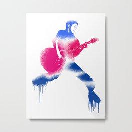 The Guitarist Metal Print