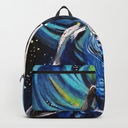 Howling Wolf ACEO Backpack