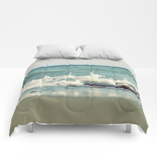 Mint Splash Comforters