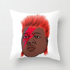 Biggie Stardust Throw Pillow
