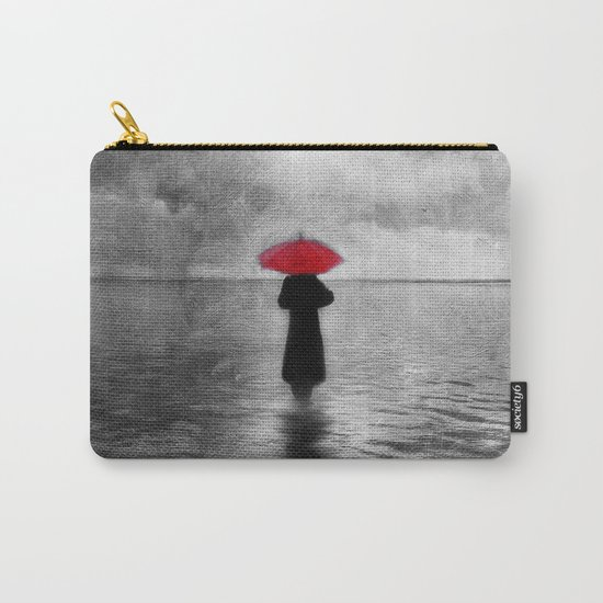 waiting in the sea II  -  by Viviana Gonzalez Carry-All Pouch