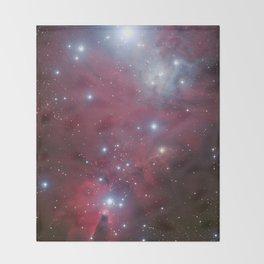 Nebula galaxy unicorn star constellation NASA space stars geek sci fi star landscape photo Throw Blanket