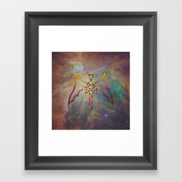 Dragon Knot Framed Art Print