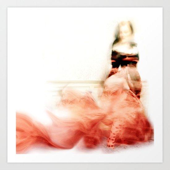 Lady Rose Art Print