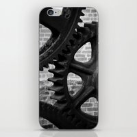 iron maiden iPhone & iPod Skins featuring Iron by Chandon Photography