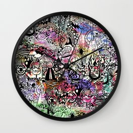 ironic chaos Wall Clock