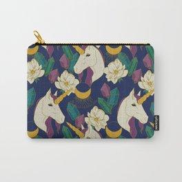 Magic Unicorn Garden Carry-All Pouch