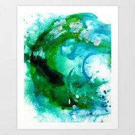 Fantasy Wave Art Print