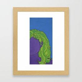 self portrait 3 Framed Art Print
