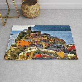 Cinque Terre Vernazza Village Mediterranean Coast, Italy 2 Rug