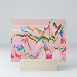 Invert Rainbow Ribbon Mini Art Print
