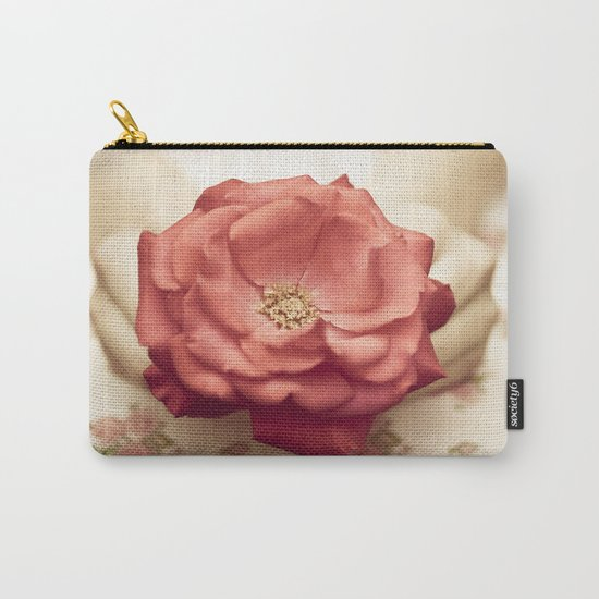 Rose in her hands III Carry-All Pouch