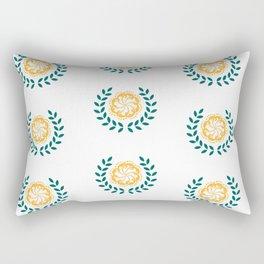 Tropical Wreath Rectangular Pillow