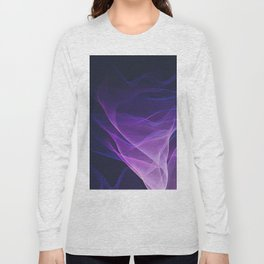 Out of the Blue - Pink, Blue and Ultra Violet Long Sleeve T-shirt