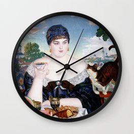 Russian Tea Party Wall Clock