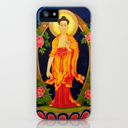 The Jewel in the Lotus iPhone Case