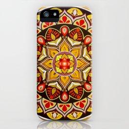"""Mandala """"Safe shelter"""" iPhone Case"""