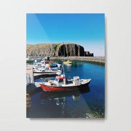 Snaefellsnes Peninsula Marina Metal Print