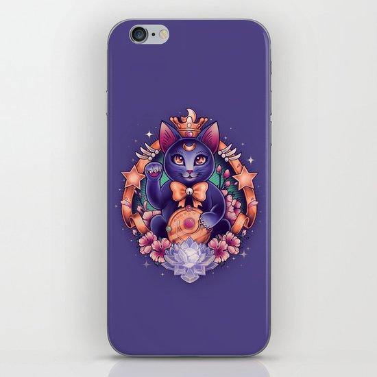 Maneki Luna iPhone & iPod Skin