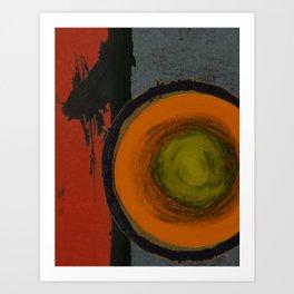 Opal Ten Art Print