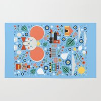 dumbo Area & Throw Rugs featuring Dumbo by Carly Watts