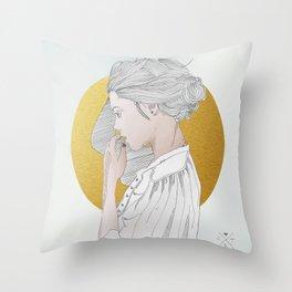 PEDROLIRA (Margot) Throw Pillow