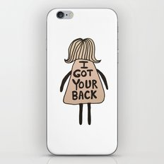 I Got Your Back #GirlScouts #Fundraiser iPhone & iPod Skin