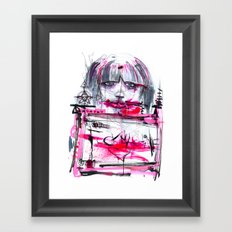 Fuck Machine Framed Art Print