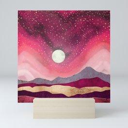Scarlet Night Mini Art Print