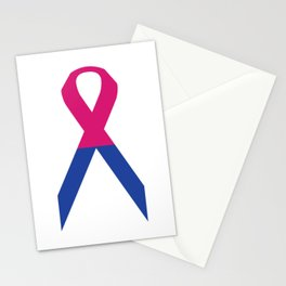 Gender Binary Ribbon Stationery Cards