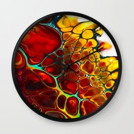 Turtle Dreaming Wall Clock