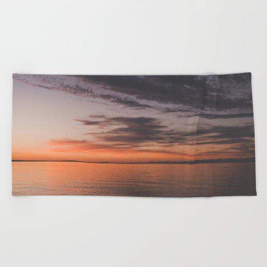 Vancouver Island Beach Towel