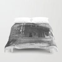obama Duvet Covers featuring The Obama Economy by politics