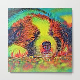 AnimalColor_Dog_017_by_JAMColors Metal Print