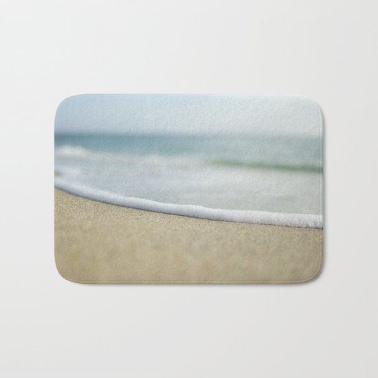 Sea Foam Beach Bath Mat