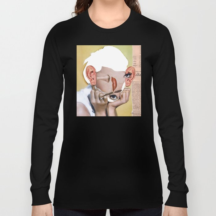 Audrey 2 Collage Long Sleeve T-shirt