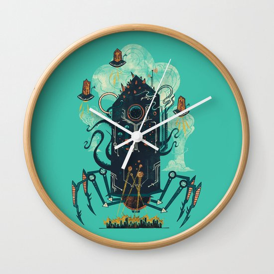 Not with a whimper but with a bang Wall Clock