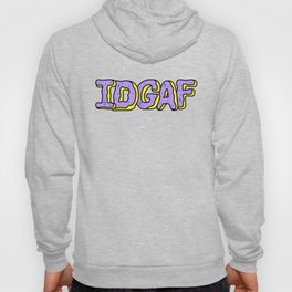 IDGAF Violet Donuts Hoody