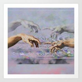 Magnetisim Art Print