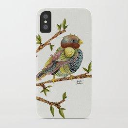 Positivity Bird iPhone Case