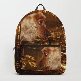 Dog Cocker Spaniel Backpack