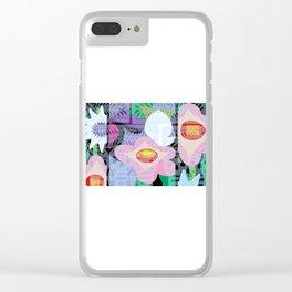 Yelapa Jungle Clear iPhone Case
