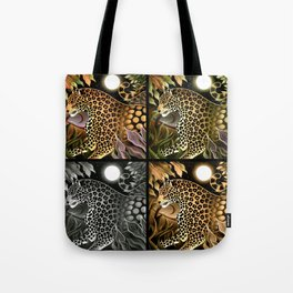 Jaguar Jungle Tote Bag