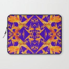 Bird of Paradise Fractal Floral Mandala Laptop Sleeve