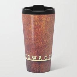 VW Rust Travel Mug