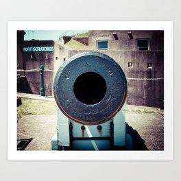 Newcastle, NSW, Australia Fort Scratchley Art Print